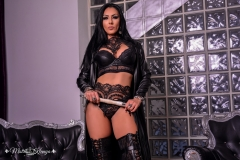 Mistress-Kennya-in-leather-and-lace-with-whip-MARKED