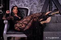 Mistress-Lexa-sitting-with-black-heels