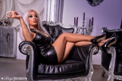 Mistress-Saida-in-latex-and-heels-and-handcuffs-MARKED