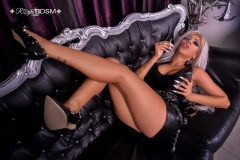 Mistress-Saida-in-latex-and-heels-on-couch-MARKED